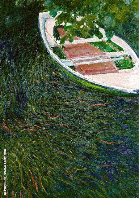 The Boat 1887 By Claude Monet