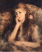 Portrait of a Young Girl 1878 By Pierre Auguste Renoir