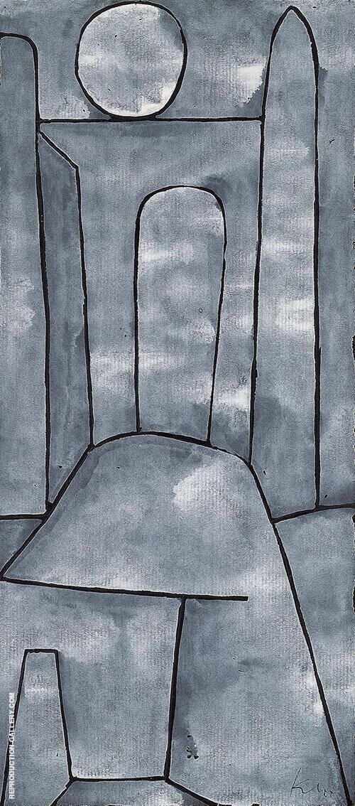 Ein Tor 1939 By Paul Klee