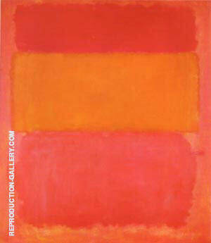 Reproduction of Orange, Red Yellow 1956 by Mark Rothko | Oil Painting Replica On CanvasReproduction Gallery