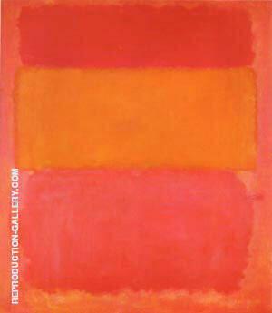Orange, Red Yellow 1956 By Mark Rothko