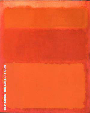 Shades of Red 1961 By Mark Rothko Replica Paintings on Canvas - Reproduction Gallery