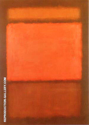 Number 14 1963 By Mark Rothko Replica Paintings on Canvas - Reproduction Gallery