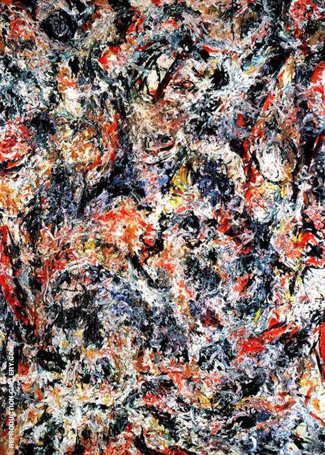 Scent 1955 By Jackson Pollock