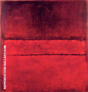Untitled 1959 By Mark Rothko Replica Paintings on Canvas - Reproduction Gallery