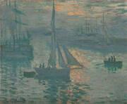 Sunrise Marine 1873 By Claude Monet