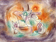 Howling Dog By Paul Klee