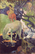 The White Horse 1898 By Paul Gauguin