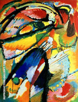 Angel of the Last Judgment 1911 By Wassily Kandinsky - Oil Paintings & Art Reproductions - Reproduction Gallery