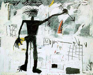 Self-Portrait 1982 By Jean-Michel-Basquiat