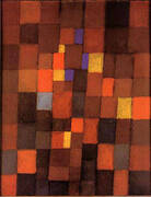 Pictorial Architecture (Red, Yellow, Blue) 1923 By Paul Klee
