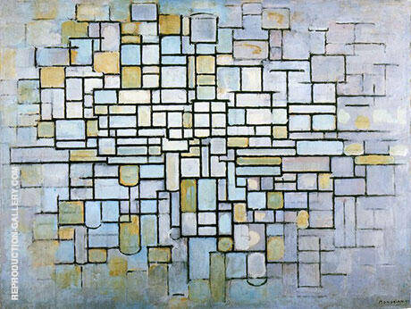 Composition No. II Line and Color 1913 By Piet Mondrian