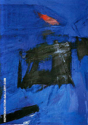 Scudera 1961 By Franz Kline Replica Paintings on Canvas - Reproduction Gallery