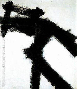 Hampton 1954 Painting By Franz Kline - Reproduction Gallery