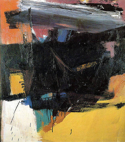 Reproduction of Red Crayon 1959 by Franz Kline | Oil Painting Replica On CanvasReproduction Gallery