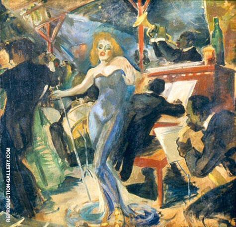 Hot Jazz 1940 By Franz Kline