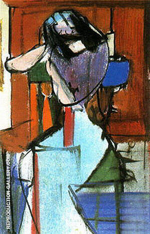 Seated Figure Elizabeth 1948 By Franz Kline