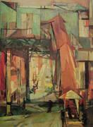 Chatham Square 1948 By Franz Kline