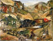 Palmerton PA 1941 By Franz Kline