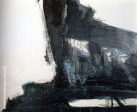 Diamond 1960 By Franz Kline - Oil Paintings & Art Reproductions - Reproduction Gallery