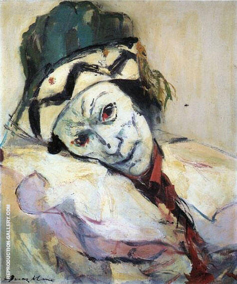 Nijinsky As Petrouchka 1948 Painting By Franz Kline - Reproduction Gallery