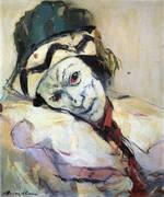Nijinsky As Petrouchka 1948 By Franz Kline