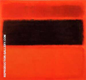 No. 36 Black Stripe 1958 Painting By Mark Rothko - Reproduction Gallery