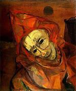 Red Clown 1947 By Franz Kline
