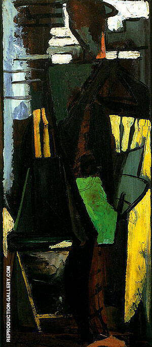 The Dancer 1946 Painting By Franz Kline - Reproduction Gallery
