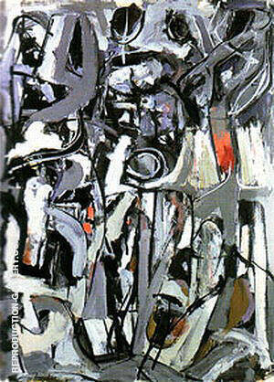 The Bridge 1951 By Franz Kline - Oil Paintings & Art Reproductions - Reproduction Gallery