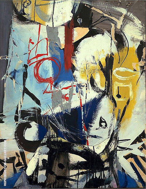 Untitled 1948 By Franz Kline