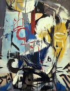 Untitled 1948 By Franz Kline