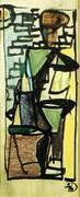 Study For The Dancer 1946 By Franz Kline