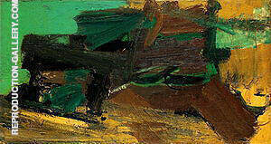 Untitled 1950 By Franz Kline Replica Paintings on Canvas - Reproduction Gallery
