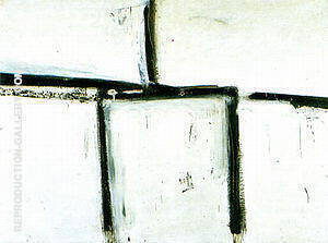 Painting No 11 1951 Painting By Franz Kline - Reproduction Gallery