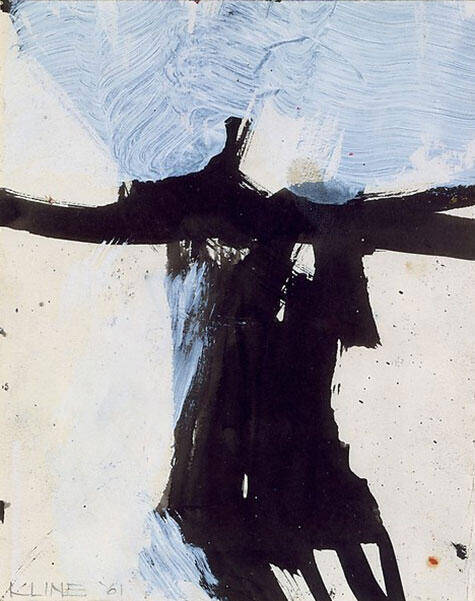 Study For Flanders 1984 Painting By Franz Kline - Reproduction Gallery