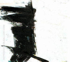 Untitled 1959 Painting By Franz Kline - Reproduction Gallery