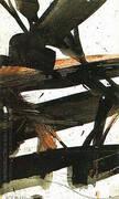 Study for Horizontal Rust 1960 By Franz Kline