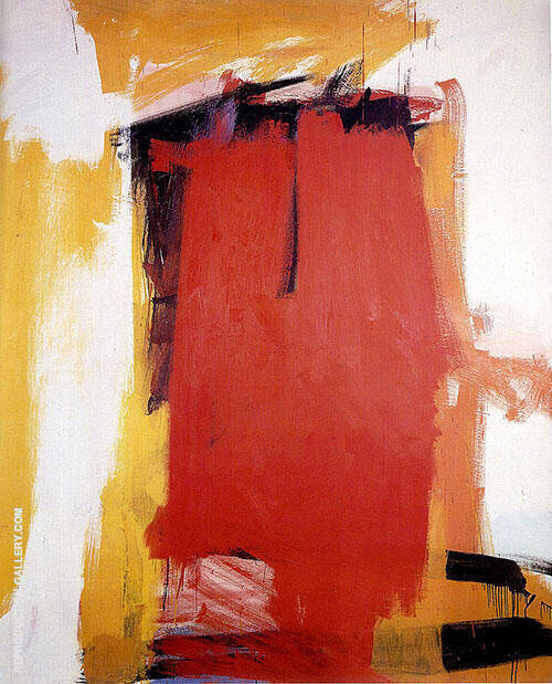Harley Red By Franz Kline Replica Paintings on Canvas - Reproduction Gallery