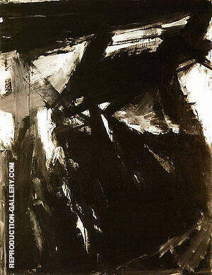Siegfried 1958 By Franz Kline Replica Paintings on Canvas - Reproduction Gallery