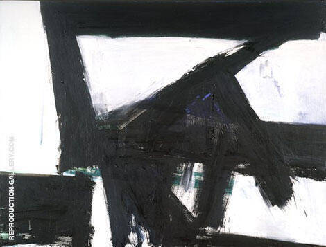 Lehigh V Span 1959-60 By Franz Kline - Oil Paintings & Art Reproductions - Reproduction Gallery