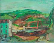 Pennsylvania Landscape 1948-49 By Franz Kline