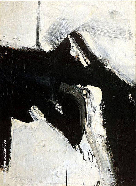 Buried Reds 1953 Painting By Franz Kline - Reproduction Gallery