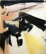 Abstraction 1955 By Franz Kline