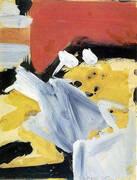 Untitled 1956 By Franz Kline