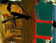 Green Red and Brown 1955 By Franz Kline