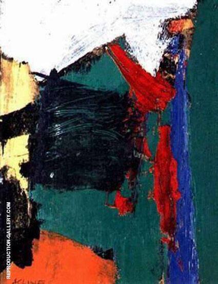 Lester 1959 Painting By Franz Kline - Reproduction Gallery