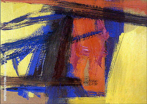 Tragedy 1961 Painting By Franz Kline - Reproduction Gallery