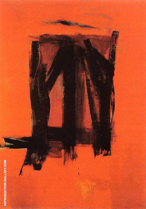 Red Painting 1961 By Franz Kline - Oil Paintings & Art Reproductions - Reproduction Gallery
