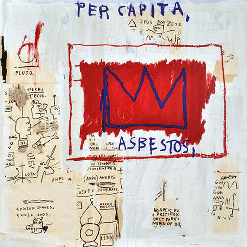 Per Capita Painting By Jean-Michel-Basquiat - Reproduction Gallery